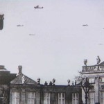 Tyske fly over Amalienborg 9. april 1940