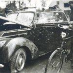 Frihedskæmpernes bil. Foto: Sorø Lokalarkiv